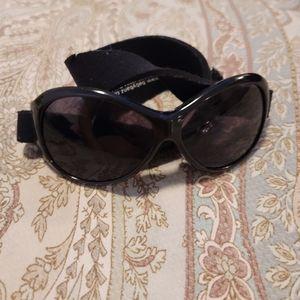 Retro Baby banz sunglasses black